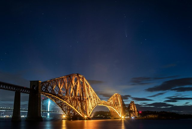 Will Scotland build a railway tunnel beneath the Firth of Forth to shorten the journey time from Fife to Edinburgh? (Picture: Jane Barlow/PA)
