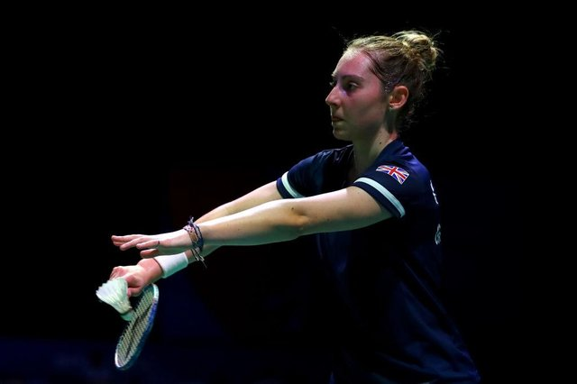 Kirsty Gilmour of Team GB will compete in the Women's Singles event in Tokyo. (Photo by Dean Mouhtaropoulos/Getty Images)