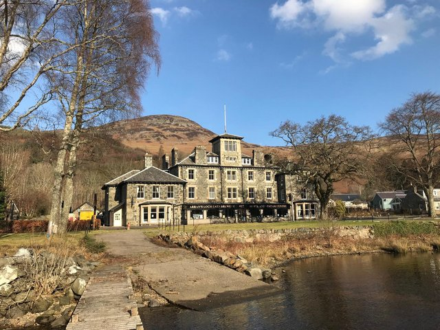 The site on the banks of Loch Earn includes a brewery with the capacity to produce 3,500 litres a day. Picture: contributed.
