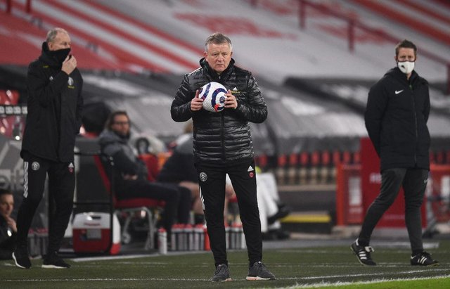 Chris Wilder, Manager of Sheffield United. (Photo by Oli Scarff - Pool/Getty Images)