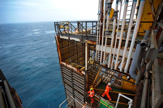 The Scottish economy is expected to be buoyed by oil and gas firms experiencing an increase in both global demand and oil prices. Picture: Andy Buchanan/Getty Images.