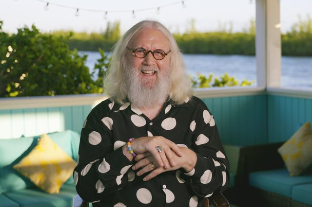 Billy Connolly at his home in Florida.