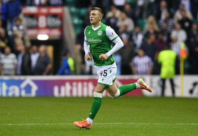 Josh Campbell, currently on loan at Edinburgh City, is one of several Hibs players who have been left kicking their heels due to the lower league football shutdown.