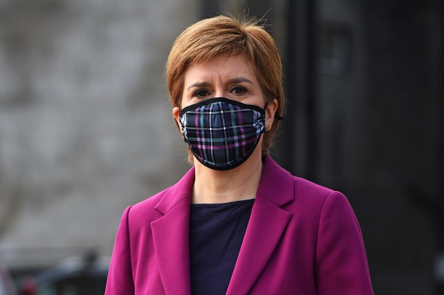 First Minister Nicola Sturgeon is set to update the public on the further easing of Covid restrictions on Tuesday (Getty Images)
