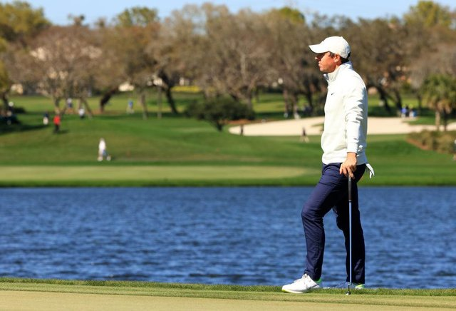 Rory McIlroy during the final round of the Arnold Palmer Invitational Presented by MasterCard at the Bay Hill Club and Lodge in Orlando, Florida, on Sunday. Picture: Mike Ehrmann/Getty Images.