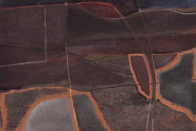 Detail from Nocturnal Shore, by Philip Reeves
