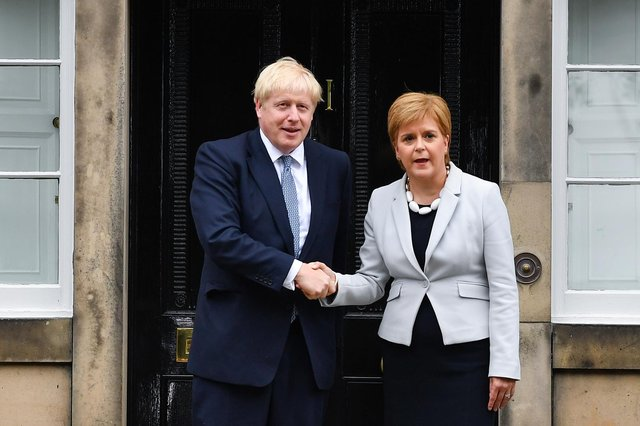 Nicola Sturgeon has repeatedly said Scotland would be able to generate growth after independence (Getty Images)