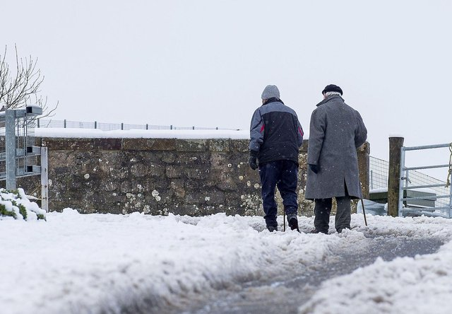 Snow weather warnings in place for most parts of Scotland, particularly the east, over the next few days picture: Lisa Ferguson /JPI Media