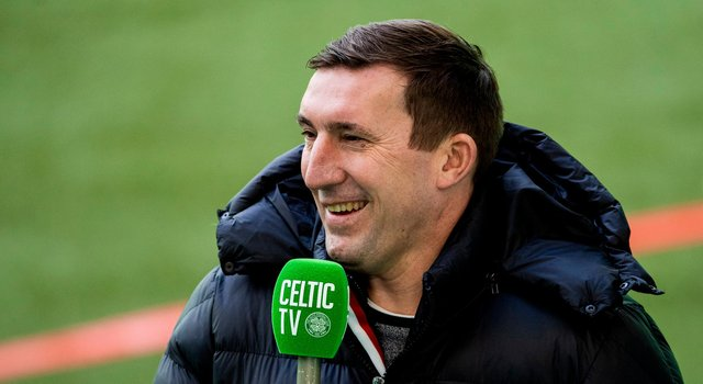Alan Stubbs, who has provided punditry for Celtic TV, says some of the club's players haven't looked interested across a disastrous season. (Photo by Ross MacDonald / SNS Group)