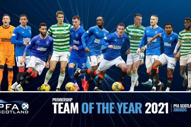 PFA Scotland have announced their team of the year 2020-21