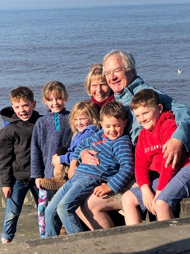 Martin Stephen said he owes his life to David Brunton and the Dunbar RNLI lifeboat crew