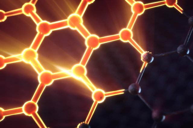 Graphene is said to be 100 times stronger than steel, very light, extremely flexible and a highly efficient conductor of electricity.