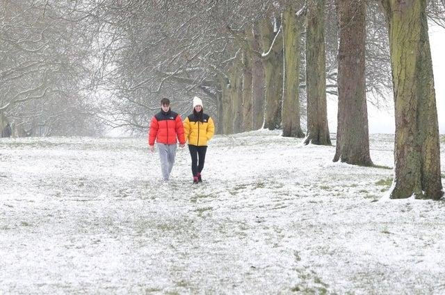 Parts of Scotland will see snow over the Easter weekend, according to the Met Office.