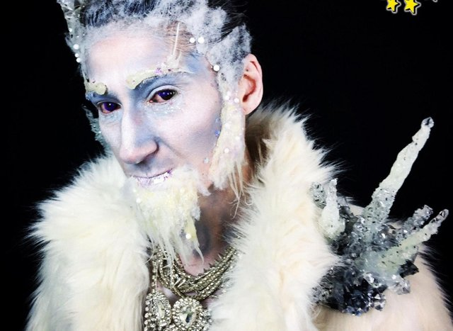 Dorian as Jack Frost in 'Love at First Frost'