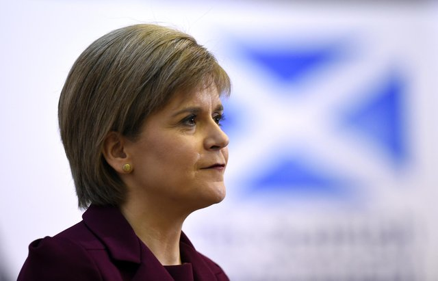 Latest Scottish Government figures show 3,887 new covid cases and 235 hospital admissions recorded as First Minister points to vaccine impact (WPA Pool/Getty Images).