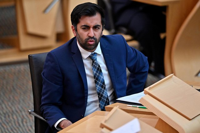 The additional funding was announced by health secretary Humza Yousaf. Picture: Jeff J Mitchell/Getty