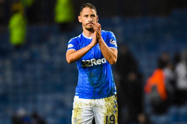 Rangers defender Nikola Katic moved out on loan on transfer deadline day. Picture: SNS