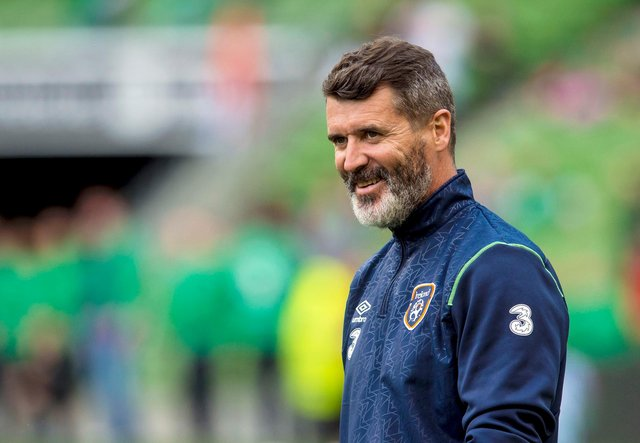 Former Manchester United and Celtic midfielder Roy Keane is favourite with the bookmakers to take over at Celtic Park. Picture: SNS