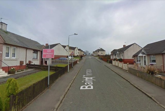 A teenage boy has died after a collision with a bus in Harthill, Lanarkshire. Pic: Google Maps