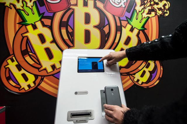 The Bitcoin cryptocurrency has been making the headlines over the past few years, and has even made it into ATMs. Picture: John Devlin