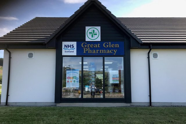 The new addition to M&D Green Group increases its portfolio of pharmacies across Scotland to 25. Picture: contributed.