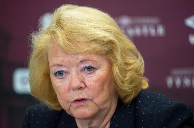 Ann Budge says she still has plenty work to do at Hearts.
