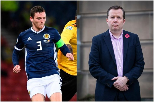 """Professor Jason Leitch is """"desperate"""" to watch Scotland play England in Wembley this Summer, but said he could not guarantee that fans would be able to attend."""