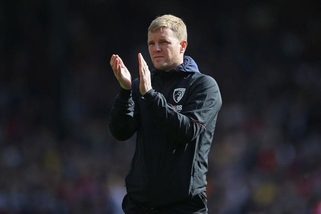 Eddie Howe is moving closer to becoming Celtic's next manager. Picture: SNS