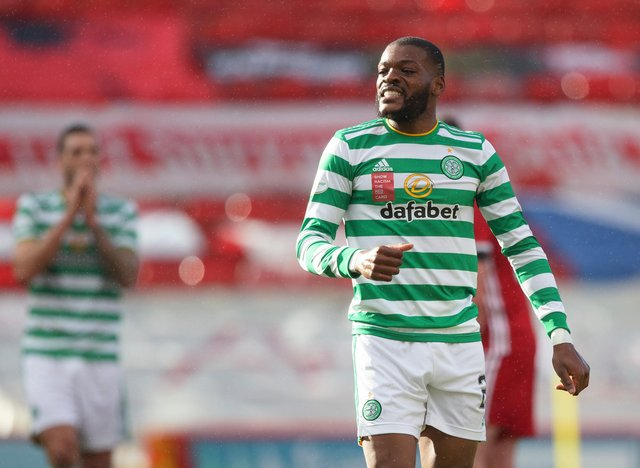Celtic midfielder Olivier Ntcham is unlikely to be bought by Marseille this summer. Picture: SNS