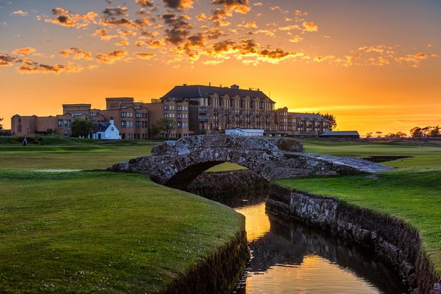 The Old Course Hotel is to close from today.