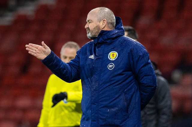 Steve Clarke hopes to find the right way forward for Scotland against Israel.