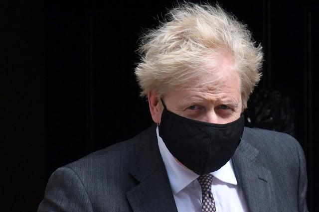Boris Johnson PIC: Daniel Leal-Olivas/AFP via Getty Images