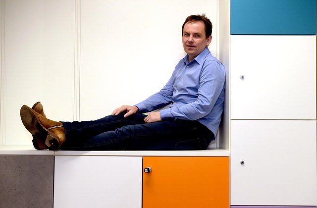 Nucleus founder David Ferguson said that focus and investment had paid dividends in 2020. Picture: Lisa Ferguson