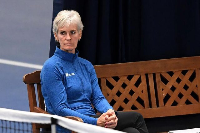Judy Murray warned of the importance of getting active. Picture: Getty