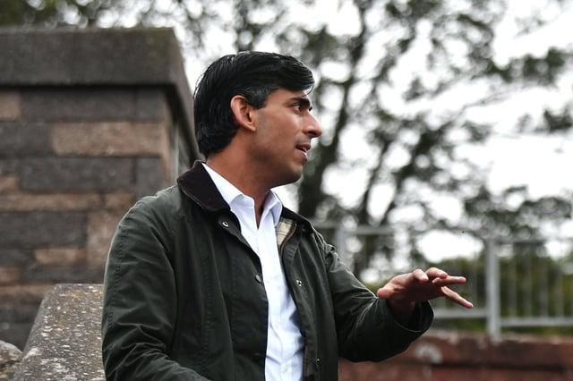 Chancellor Rishi Sunak. Picture: John Devlin/JPIMedia