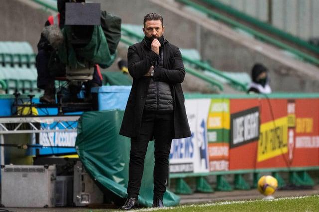 Aberdeen manager Derek McInnes has plenty to ponder.