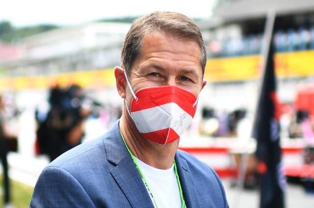 Austrian national football team head coach Franco Foda. (Photo by Christian Bruna - Pool/Getty Images)