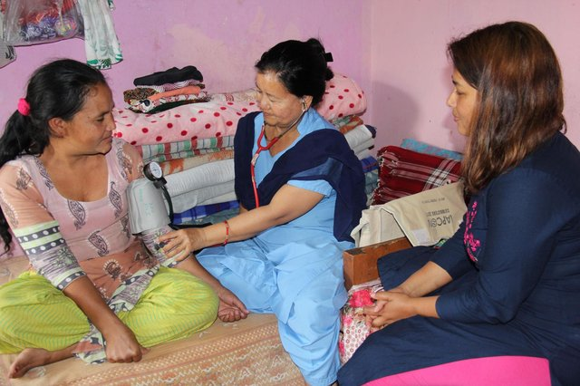 Emms International was planning to launch new palliative-care services in Nepal on July 1 (Picture courtesy of Emms International)