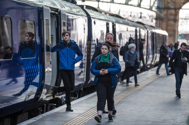 Those using the railways in Scotland will see an increase in services from Monday