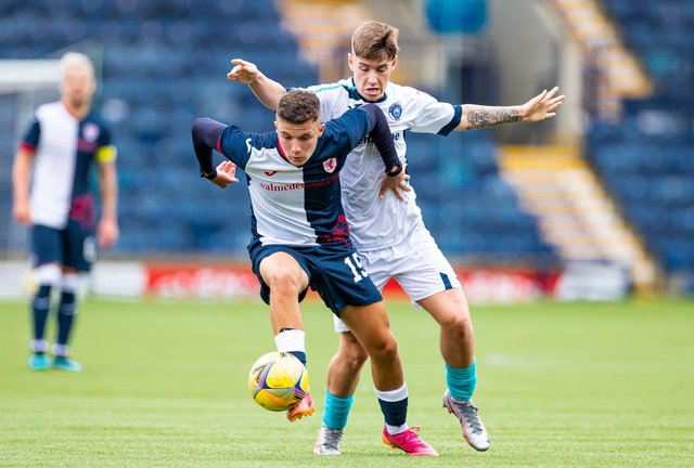 Dylan Tait is driven to maintain his performance levels for Raith until January.