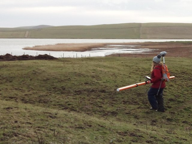 The lost Viking waterway likely connected farms on Orkney Mainland to the power bases of the Norse earls on the north west coast at Birsay. PIC: St Andrews University.