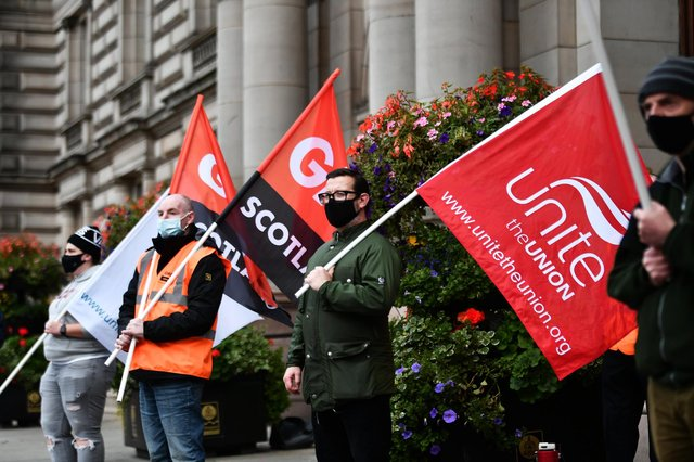 Trade unions are becoming increasingly relevant once again (Picture: John Devlin)