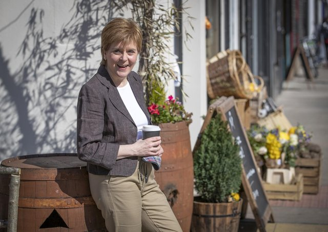 First Minister Nicola Sturgeon is pledging more money to battle climate change