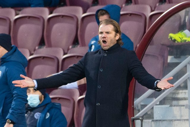 Hearts manager Robbie Neilson was frustrated during his team's 3-2 loss against Raith Rovers, but they improved to see off the Kirkcaldy side a few days later. (Picture: SNS)