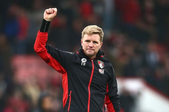 Eddie Howe is favourite for the Celtic job. Picture: SNS