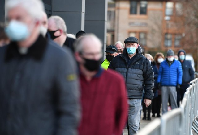 People with hidden health conditions have been abused for not wearing face coverings. Picture: John Devlin