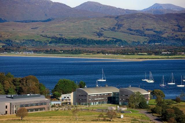 The European Marine Science Park at Dunstaffnage, near Oban in Argyll. Picture: Scotphoto/HIE