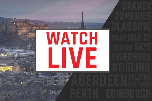 Watch live as Nicola Sturgeon updates MSPs at Holyrood.