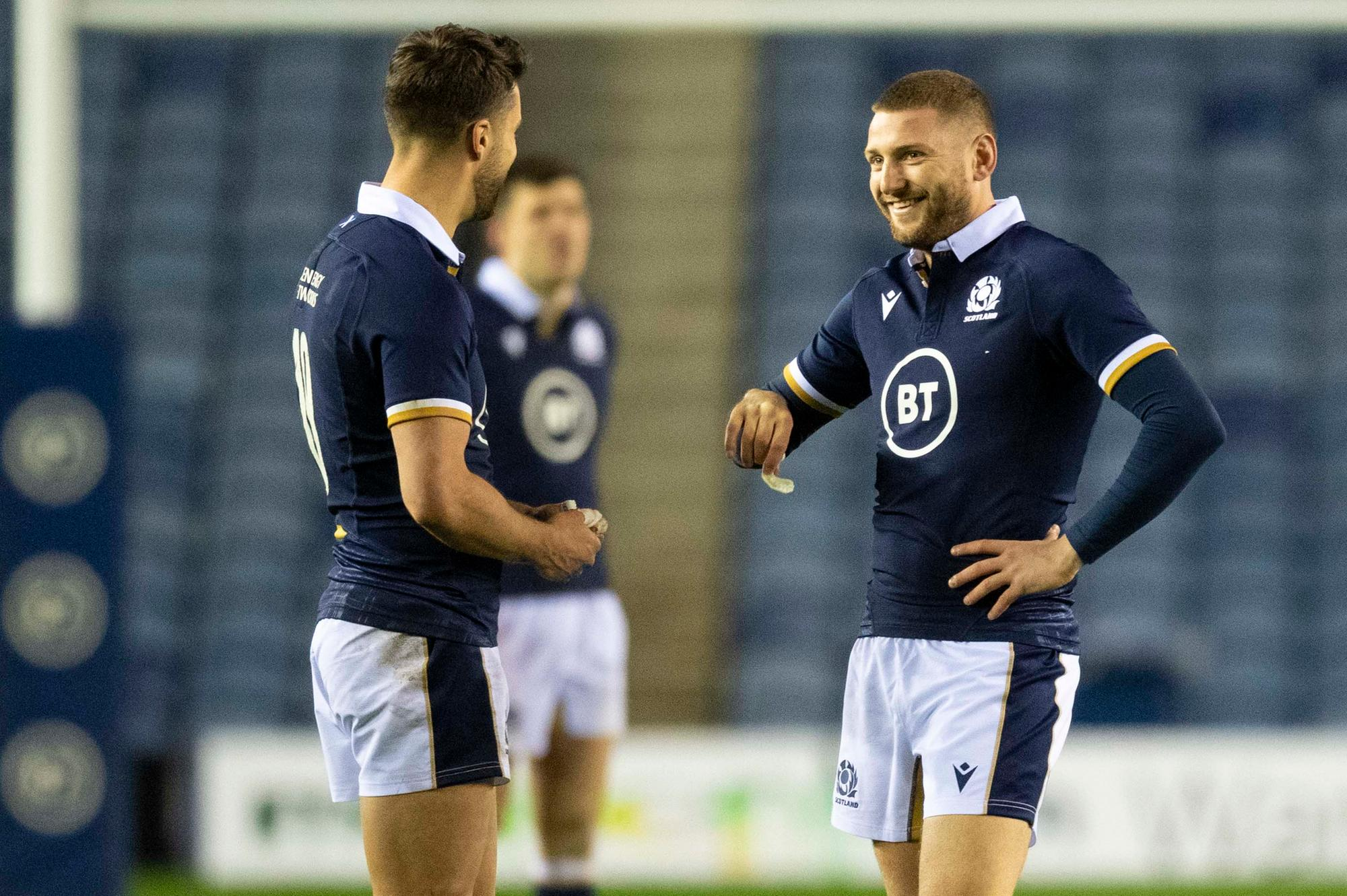 Finn Russell champions the idea of playing alongside Adam Hastings in two-pronged Scotland attack