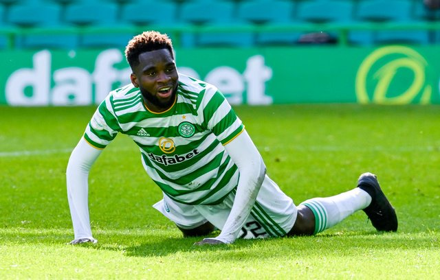 Celtic striker Odsonne Edouard is reportedly wanted by Arsenal. Picture: SNS